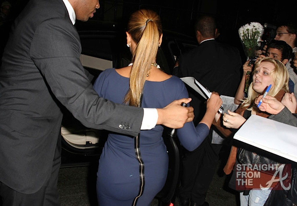 Beyonce and Jay-Z Leave NOBU 031912-20