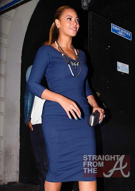 Beyonce and Jay-Z Leave NOBU 031912-21