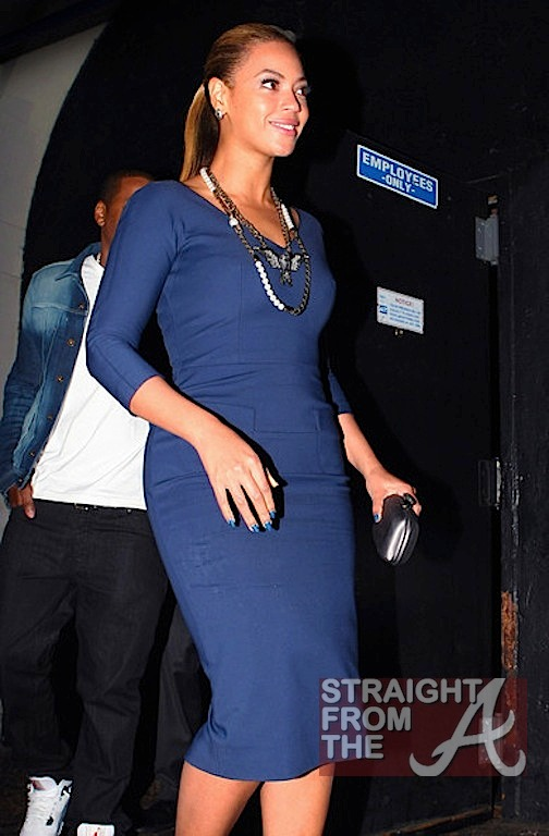 Beyonce and Jay-Z Leave NOBU 031912-22