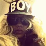 rihanna BOY hat