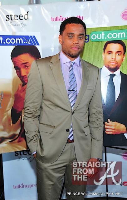 Michael Ealy Rolling Out Cover Party 040312-6