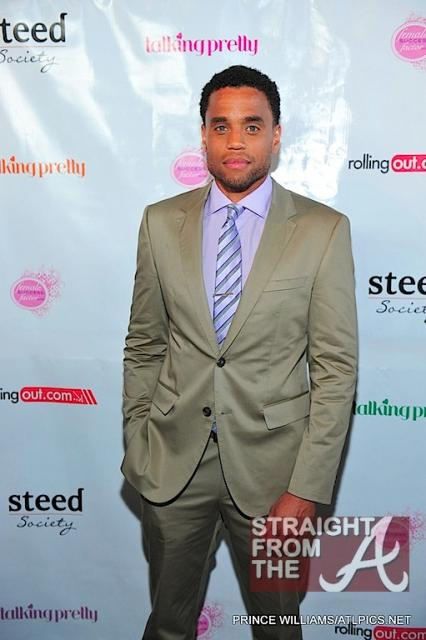 Michael Ealy Rolling Out Cover Party 040312-11