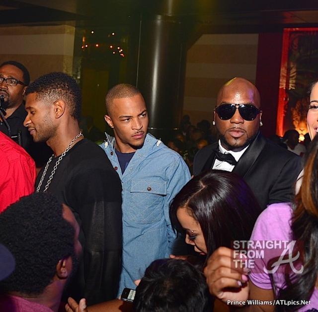 T I  Kicks Off His Birthday Weekend At Vanquish w/Usher
