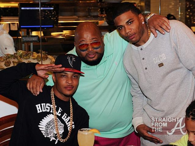 T.I., Jazze Pha and Nelly