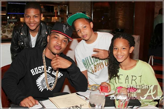 T.I. and his Kids