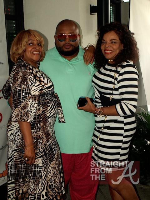 T.I.'s mom, Jazze Pha and Jamie Foster Brown