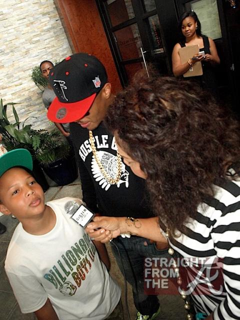 T.I. and his Son