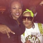 DaBrat and Michelle Brown (ATLien)