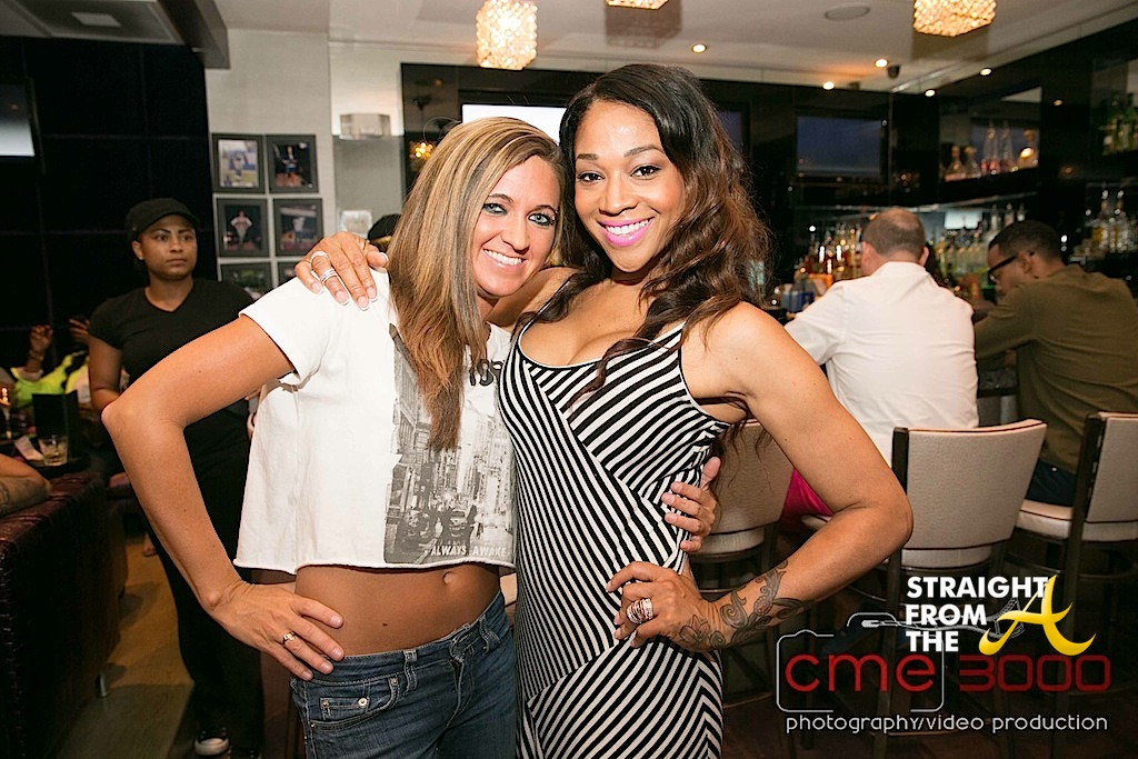Mimi Faust LHHATL Viewing Party-16