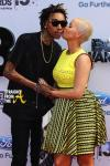 Wiz Khalifa Amber Rose 2013 BET Awards 1