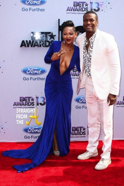 Megan Good Chris Tucker 2013 BET Awards