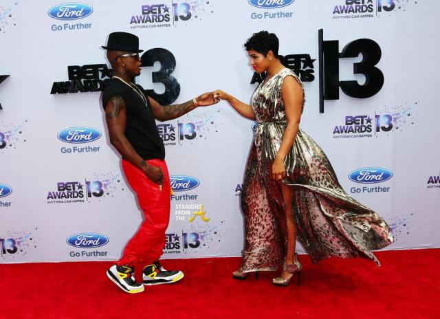 NeYo and Date 2013 BET Awards-6