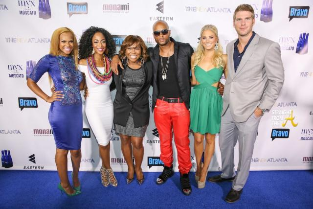 TNA Cast with Mona Scott-Young
