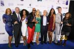 TNA Cast with Peter Reaske (Myx Fusions President) - Mike Sylvester - Mona Scott-Young