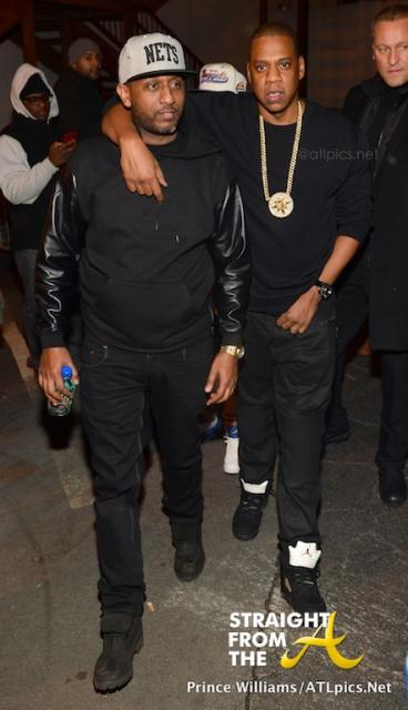 Alex Gidewon and Jay-Z