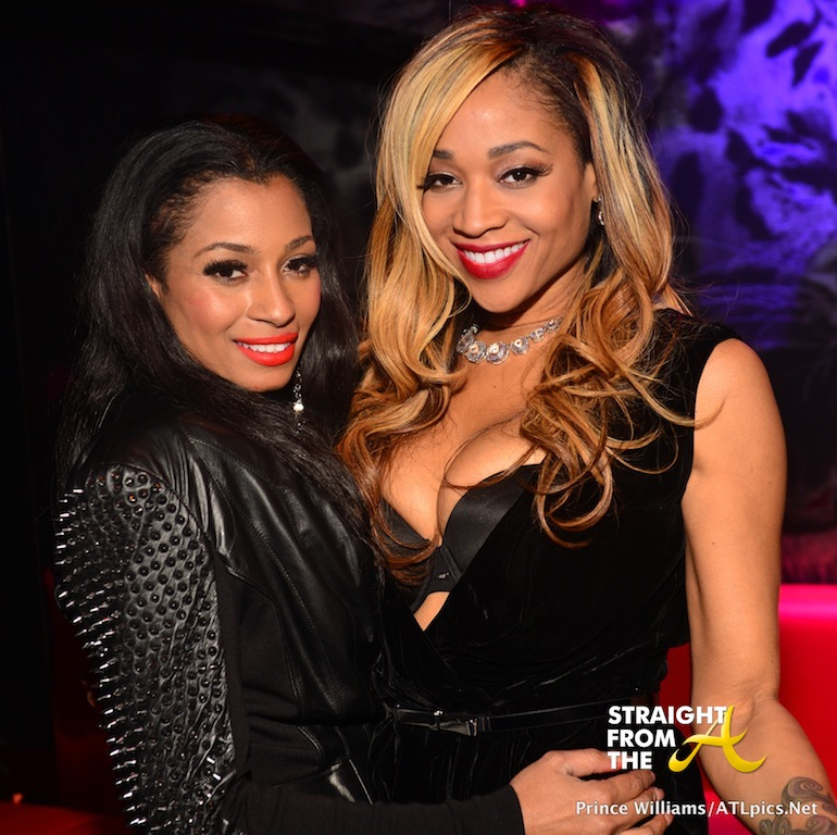 Karlie Redd and Mimi Faust