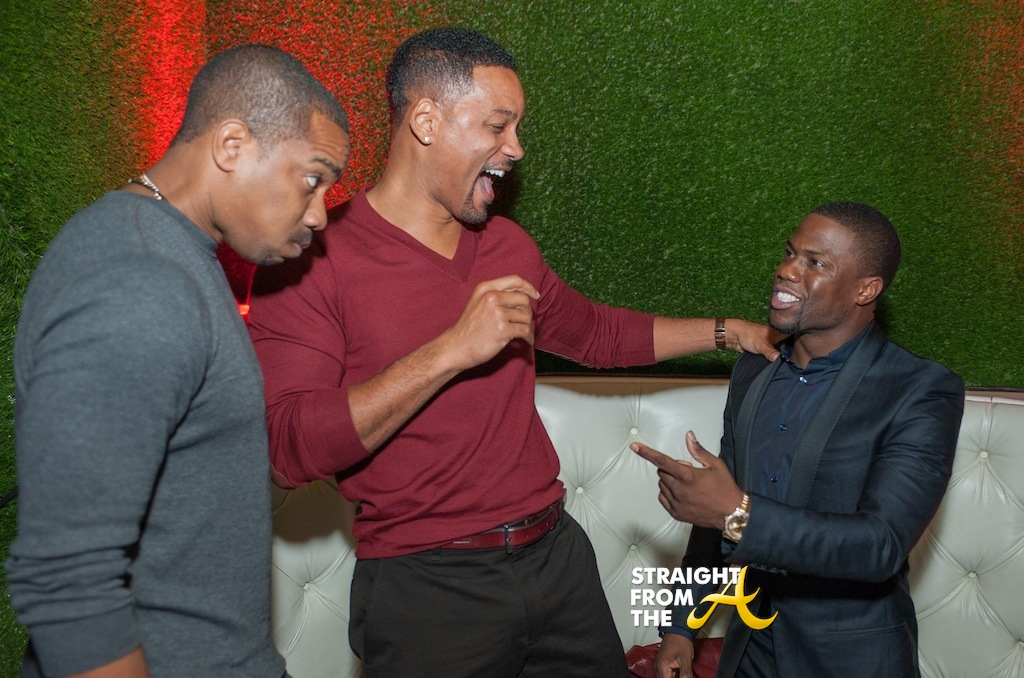 Duane Martin, Will Smith, & Kevin Hart