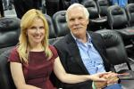 Ted Turner & His Date
