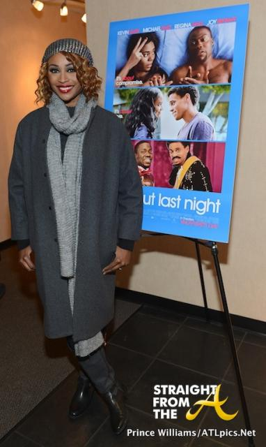 Cynthia Bailey Kenya Moore About Last Night Private Screening | Short ...