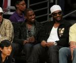 Kanye & Polow (Lakers Game)