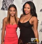 Karrueche Tran and Sheneka Adams - StraightFromTheA 2