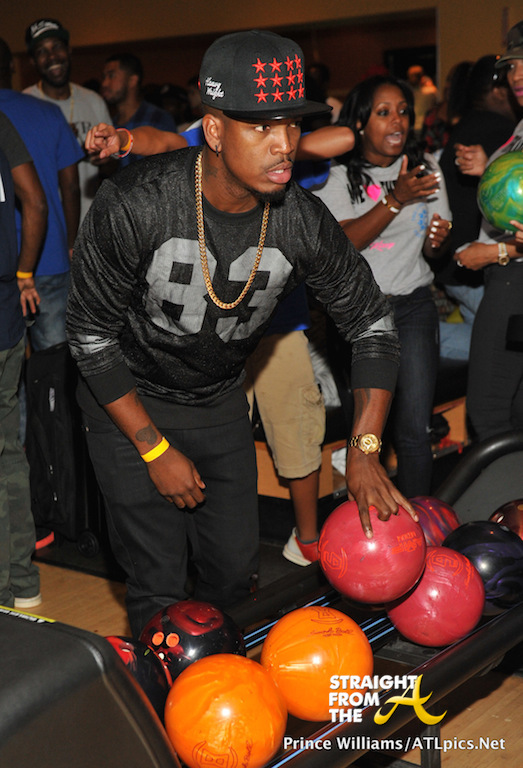 NeYo - LudaDay Celebrity Bowling Challenge 2014-43