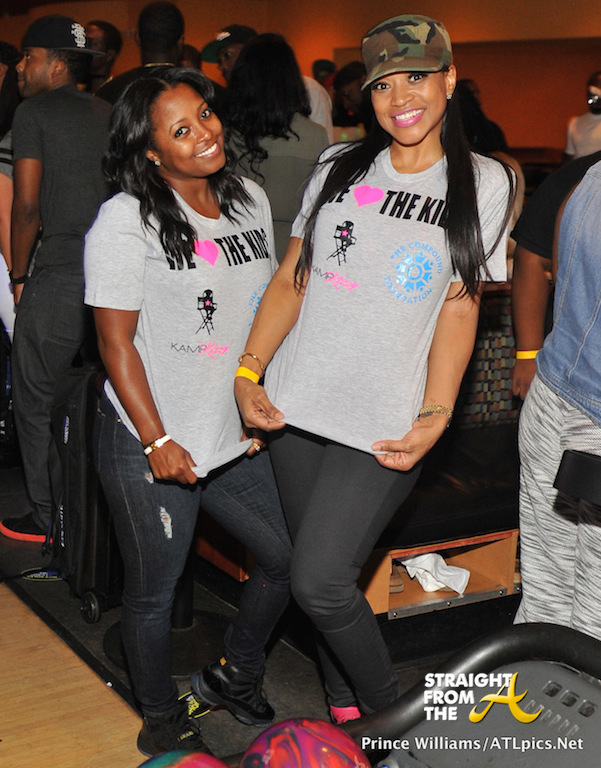 Keshia Knight Pulliam and Monyetta Shaw