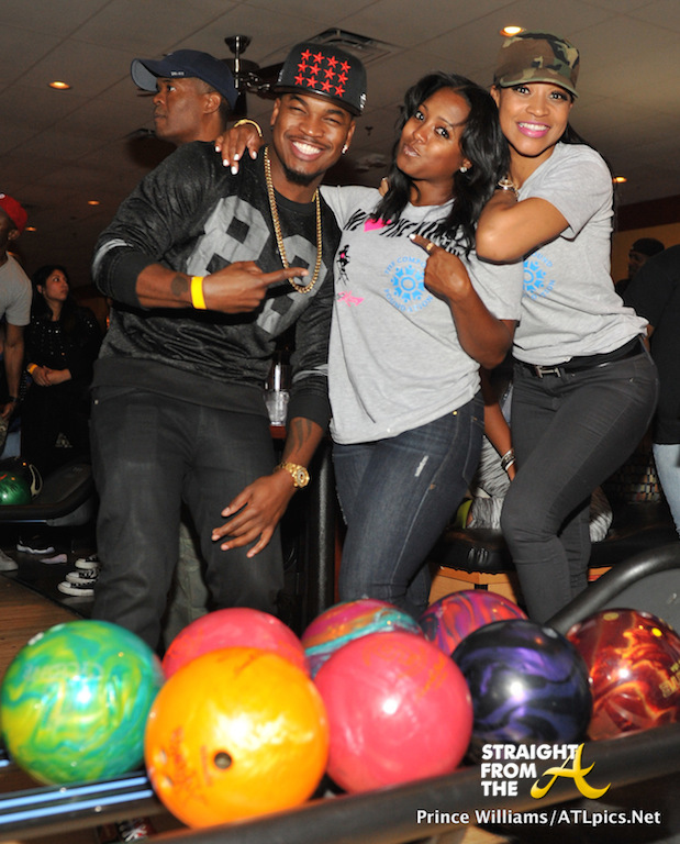 NeYo Keshia Knight Pulliam and Monyetta Shaw