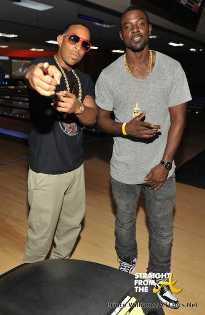 Ludacris and Lance Gross