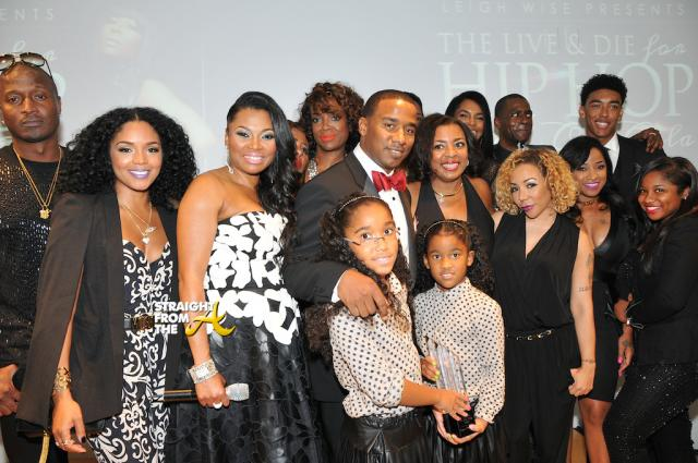 Kirk and Rasheeda Frost, Leigh Wise, The Three Brown Girls, Rico Wade, Kawan Prather and daughters, Donna Kelly Pratte, Tiny Har