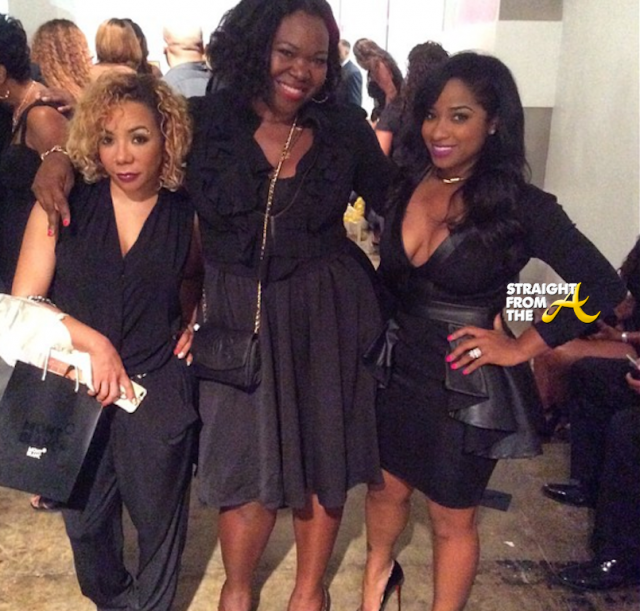 Tiny Harris, Michelle ATLien Brown, Toya Wright