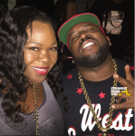 Michelle ATLien Brown Big Boi Outkast ATL Live 2014