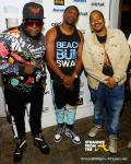 Middleman Fresh (Stylist), Theron (of production supergroup Rock City), and Ray Daniels (VP of A&R for Epic Records)