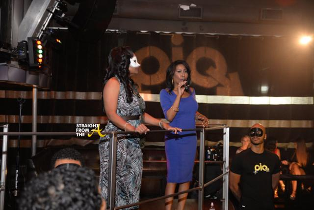Ebony Steele emcees event