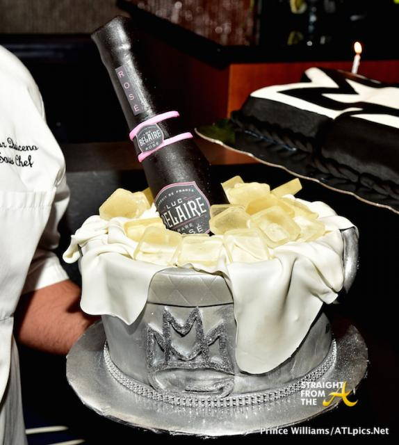 Rick Ross Belaire Cake