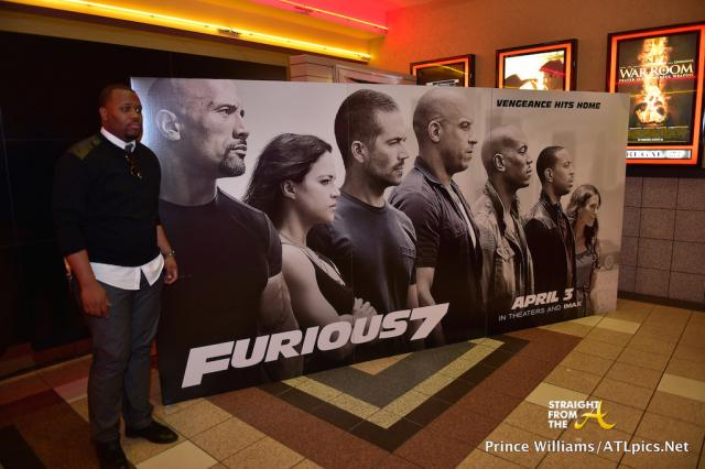 Ludacris Furious 7 Screening - SFTA-45