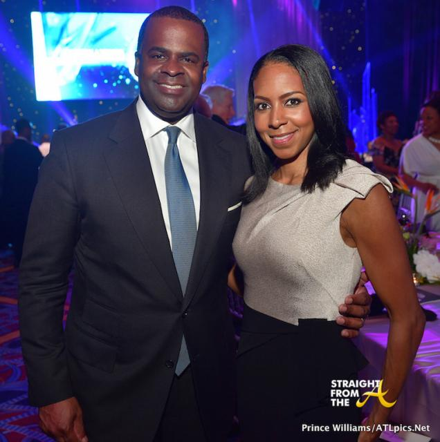 Mayor Kasim Reed and Wife Sarah