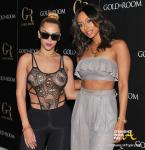 Veronica Vega Keri Hilson Gold Room 2