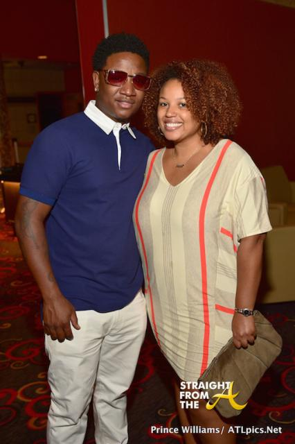 Yung Joc and Janee Bolden