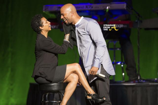 Common Brings Audience Member Onstage