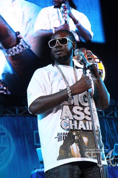 "T. Pain and his ""Big Ass Chain"""