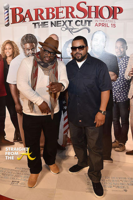 Cedric The Entertainer and Ice Cube - 3