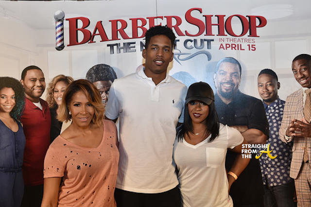 Sheree Whitfield and Family