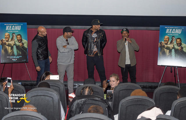 Cast of KEANU welcome guests at ATL screening