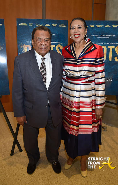 Ambassador Andrew Young and Wife Carolyn