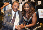 Ambassador Andrew Young and Phaedra Parks