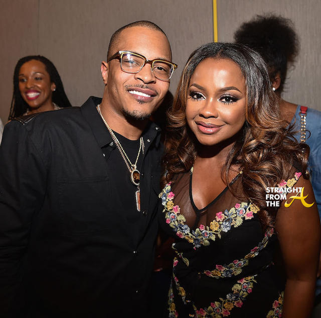 T.I. and Phaedra Parks
