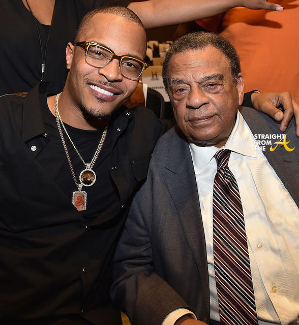 Tip T.I. Harris and Andrew Young (2)
