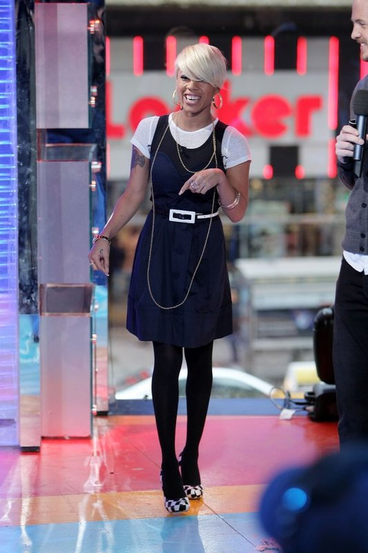 Keysia Cole Visits Mtv S Trl Straight From The A Sfta