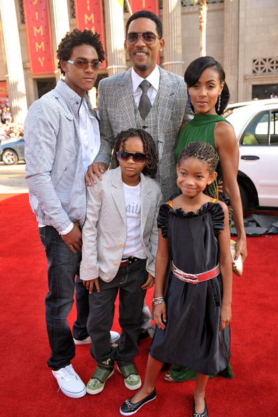 will smith family. Will Smith Credits His Success